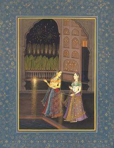 Princess Celebrating Deepawali