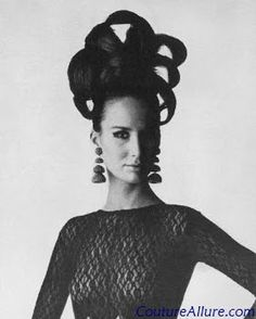 Couture Allure Vintage Fashion: Big Hair - 1965
