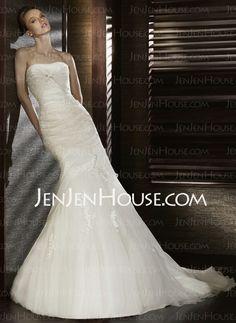 http://jenjenhouse.com/Mermaid-Chapel-Train-Ruffle--Lace--Beadwork-Sleeveless-Wedding-Dresses-With-Organza--Satin-002000598-g598