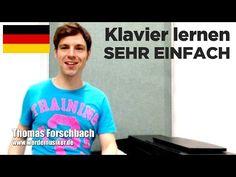 """Klavier lernen """"Für Elise"""" Teil 1 von 7 - Klavierkurs Anfänger - sehr einfaches Piano Tutorial - YouTube"""