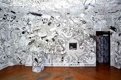 Drawing on the walls