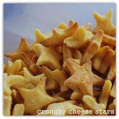 Fits the Feingold Diet: Crunchy Cheese Stars   Temporary Insanity
