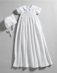 Newborn 0-9 Months Unisex Smocked Christening Gown | Lord and Taylor