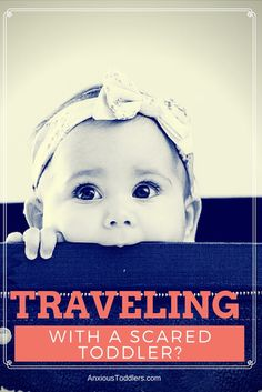 Traveling with a toddler that is nervous? Traveling with kids can be hard enough - but add an anxious child and it can be exhausting! Learn tips on how to travel with an anxious toddler.