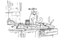 Simon's Cat :), dinner in a can