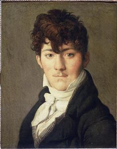 Portrait of Auguste Francois Talma, Ensign, nephew of the tragedian Talma;   Jean Auguste Dominique Ingres
