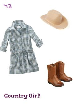 Country girl outfit for a toddler! Toddler Girl Style, Toddler Girl Dresses, Toddler Outfits, Kids Outfits, Cute Outfits, Boy Fashion, Plaid Fashion, Baby Tights, Kids Clothes Sale