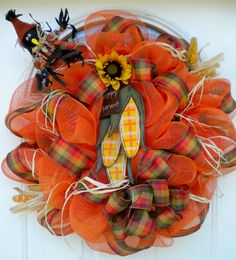 Decorating for Fall | Fall Wreaths