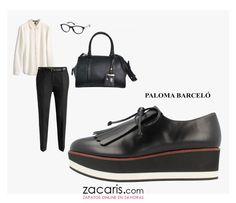 #outfit #vueltaaltrabajo serás la envidia de la oficina  zapatos #palomabarcelo https://www.zacaris.com/articulos/100018009.htm  bolso #clarks https://www.zacaris.com/articulos/100017647.htm
