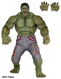 Buy Hulk - Scale Figure at Mighty Ape NZ. Introducing our biggest action figure ever! Based on his appearance in Marvel's Avengers: Age of Ultron, the Hulk scale figure measures a mind-bo. Hulk 1, Hulk Avengers, Age Of Ultron, Mighty Ape, Hulk Smash, Bruce Banner, Superhero Movies, Pop Vinyl, Marvel Comics