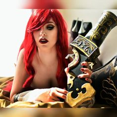 LOVING THIS PHOTO! THANKS SHEV😲😲 heres a boudoir version of my miss fortune 💋❤ Photographer @giantshev  #leagueoflegends #leaguecosplay #sexycosplay #sexyleagueoflegends #cosplay #cosplayer #pretty #missfortune #pirate #lol #lolcosplay #sexy #pretty #calander #boudoir #boudoircosplay #sexypirate #loveit #sassy #cosplaygirl