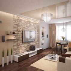 Steinwand Wohnzimmer Modern Steinwand Wohnzimmer Modern Dekor 2015