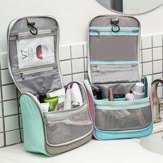 Men And Women Travel Portable Cosmetic Storage Bag Waterproof Outdoor Wash Bag - June 08 2019 at Cosmetic Storage, Travel Cosmetic Bags, Bag Storage, Travel Bags, Travel Luggage, Travel Packing, Travel Backpack, Food Storage, Storage Ideas