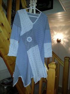 Rauma oppskrift  strikket av Astrid L