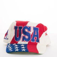1cca9931ac8c3  96 Olympic Games Atlanta Hat Vintage USA Stars Stripes Flag Snapback –  itisvintage  itisvintage