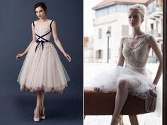 26 Utterly Romantic Ballerina-Inspired Wedding Dresses