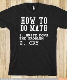 d0933f2c Custom T-Shirts Fast, Design Online | RushOrderTees.com. Funny Math ...