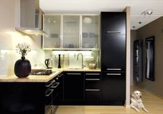 cool 36 Cool Contact Paper Kitchen Cabinet Doors Ideas to Makes Look Expensive Contact Paper Kitchen Cabinets, Types Of Kitchen Cabinets, Kitchen Cabinet Doors, Black Kitchens, Home Kitchens, Vintage Stoves, Black Cabinets, Kitchen Design, Stand Mixers