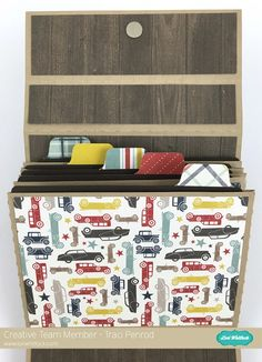 Artsy Albums Scrapbooking Kits and Custom Designed Scrapbook Albums by Traci Penrod: Lori Whitlock Suitcase Style Mini Album.