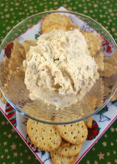 Italian Cream Cheese Spread - only simple 3 ingredients! Perfect for holiday parties!