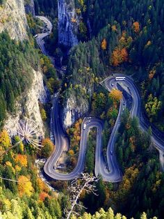 The Bicaz Canyon, Romania – 2020 World Travel Populler Travel Country Places To Travel, Places To See, Travel Destinations, Beautiful Roads, Beautiful Places, Places Around The World, Around The Worlds, Visit Romania, Dangerous Roads