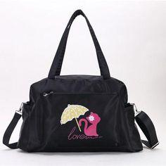 1# LY Sacs /à bandouli/ère Forme Mignon Chat Pour Cool Fille Unique Sac de Shopping Couleur Jaune