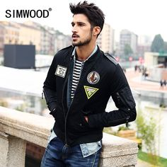 Simwood 2016 New Arrival Brand Winter Men Down Jacket Casual Slim  Parkas Men High Quality Free Shipping