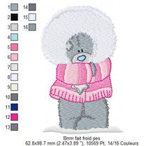 Items similar to Tatty Teddy Winter fur coat Me to You Blue Nose Bear Machine Embroidery Design on Etsy Tatty Teddy, Teddy Bear, Machine Embroidery Patterns, Hand Embroidery Designs, Winter Fur Coats, Picture Design, Crochet Hats, Blog, Quilts