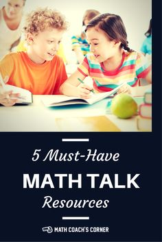 Math talk serves as a powerful assessment tool and leads to deeper mathematical understanding. Check out these 5 great math talk resources!