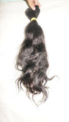 wavy bulk hair 60cm