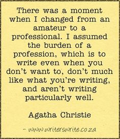 Quotable - Agatha Christie - Writers Write Creative Blog
