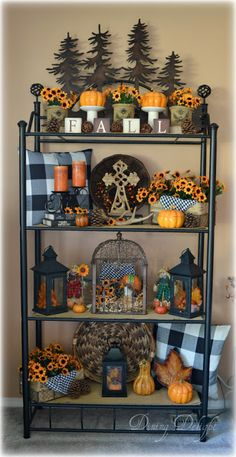 Cozy Rustic Fall Mantel Decoration Ideas You Can Apply For Your Living Room – Home Decor Ideas Cute Home Decor, Fall Home Decor, Autumn Home, Fall Arrangements, Autumn Decorating, Fall Mantel Decorations, House Decorations, Ikea, Fall Diy