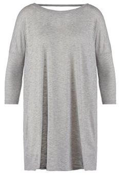 NMBINA  - Trikoomekko - light grey Ihanan rento oloilumekko, vaikka legginsien kanssa.