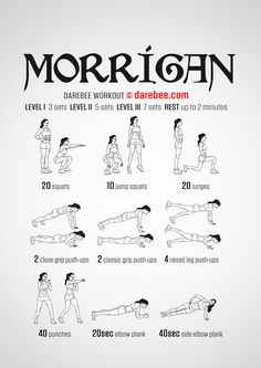 Morrigan Workout - Normal (Core)