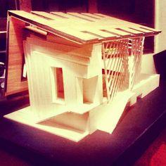 Pabellón cultural ♥ Maqueta taller 2 #workshop #arquitectura