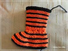 BiBa - Käsityöohjeet: neuletossut, villatossut, virkatut tiikeri-tossut - ohjeet Knitting Needles, Wool Yarn, Slippers, Crochet, Crafts, Color, Black, Manualidades, Black People