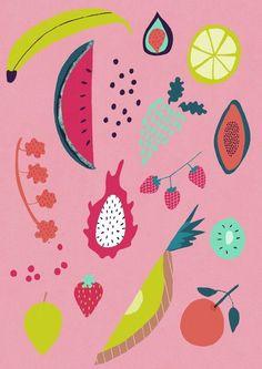 fruity tutti illustrations by naomi wilkinson