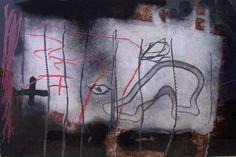 """Antoni Tàpies Grabado al Aguatinta y Barniz Blando """"Ratllat"""" 1995 65 x 98 cm Tirada de 30 unidades Firmado y numerado mano"""