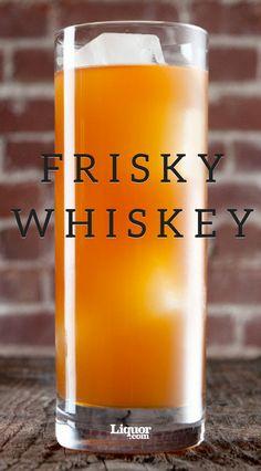 This Michael Collins Irish Whiskey cocktail has some spunk. Cocktails Frisky Whiskey This Michael Collins Irish Whiskey cocktail has some spunk. Drinks Alcoholicas, Liquor Drinks, Refreshing Drinks, Summer Drinks, Alcoholic Drinks, Beverages, Bourbon Drinks, Whiskey Mixed Drinks, Drink Recipes