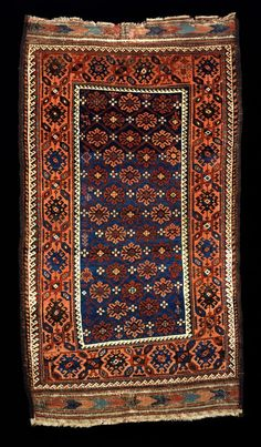 Culture Baluchi people Creation date 19th Century/MID Collection Textiles Materials wool   Horse Hair Dimensions 41 x 75 in.   104.1 x 190.5 cm.