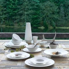 assiette et bol collection MOOD - ASA Selection
