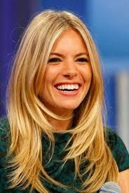 Image result for long blonde bangs hair