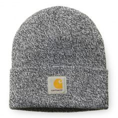 CARHARTT WIP Scott Watch Hat bonnet à revert Black   Snow beanie d7d77c509cdf