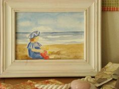 Little Boy Blue painting Little Boy Blue, Blue Painting, Frame, Home Decor, Art, Picture Frame, Art Background, Decoration Home, Room Decor