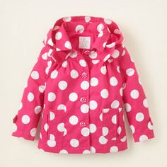 Dotted Windbreaker (The Children's Place)