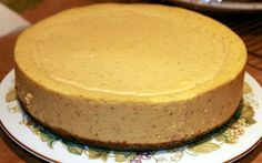 Gluten Free Pumpkin Cheesecake~ YUM recipe:  http://nancynewcomer.com/2011/07/08/gluten-free-pumpkin-cheesecake/