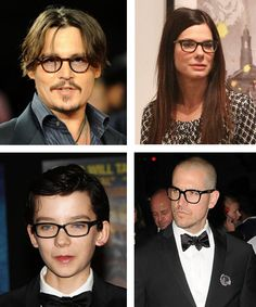 Roundup: Celebrities in nerd glasses  -  Lookmatic's trendy, fully-customizable and sensibly priced eyewear lets you look your best and inspires you to do more good. Now that's #LookmaticGOOD