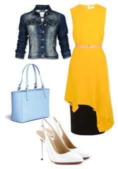 """""""Untitled #547"""" by brendansara1018 on Polyvore featuring Dorothy Perkins, Victoria Beckham, Charlotte Olympia, Mexx and Tory Burch"""