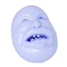 jellygummies:  Gummy, toothy, rubbery, powdery balloon-head