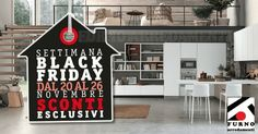 Il Black Friday è il giorno delle grandi occasioni, Furno Arredamenti ti offre di più, 4 giorni di promozioni e sconti extra: dal 20 al 26 novembre. Vieni a trovarci. #blackfriday #furnoarredamenti #promozioni #saldi #offerte